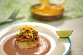 Este plato está inspirado en Puerto Plata y su gastronomía.