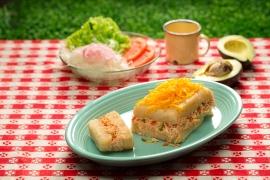 Esta receta fue inspirada en los ingredientes de la zona de Puerto Plata.