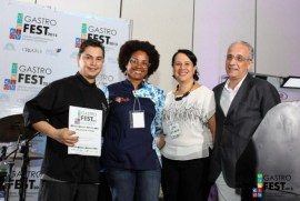 Cristian Shinya, Rosa Gómez, Lina Matos y Denis Matas