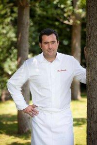 El chef invitado.