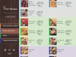 Lanzada al mercado mexicano por Larousse, la colección de aplicaciones fue diseñada para usuarios de dispositivos móviles con sistemas operativos iOS y Android. Permiten guardar las recetas favoritas, ingredientes, pasos detallados, fotografías, videos de técnicas básicas y un glosario ilustrado